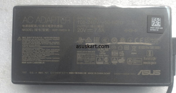 ASUS ADAPTER 150W 20V – 7.5A